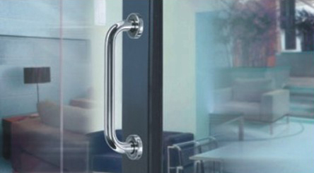 Stainless steel 304 material tube door pull handle hole to hole size 200 mm for wood door KF199<br><br>Aliexpress