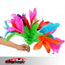 Classic Magic Feather Flower From Sleeve (small) Magic Tricks Magic Toys Magic Props(China (Mainland))
