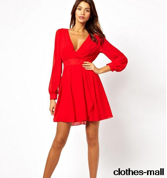 Red summer dress short red – Womans wallet and dresses