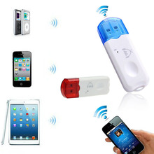 Feitong Hot Sale USB Wireless Handsfree Bluetooth Audio Music Receiver Adapter for iPhone 4 5 Mp4 Hot(China (Mainland))