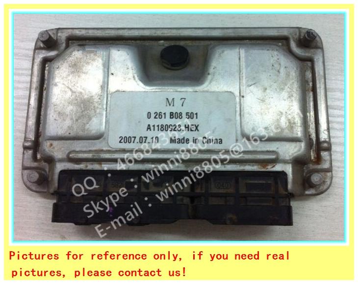 For Bicyclic small elite car engine computer board / car pc / Engnine Control Unit (ECU) / 0261B08501 / A1180928 HEX(China (Mainland))