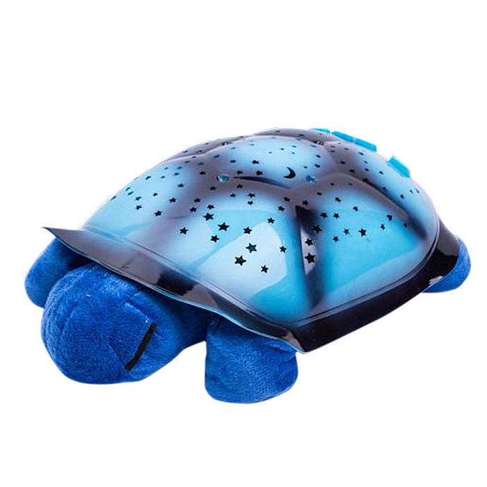 4 Colors 4 Songs Children Gift LED Night Light Turtle Music Lights Projector Star Lamp Baby Toy Nightlight(China (Mainland))