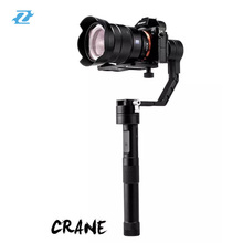 Newest !!1Zhiyun Tech  Crane  handheld stabilizer gimbal for DSLR camera brushless camera gimble PK Zhiyun Shining DSLR camera