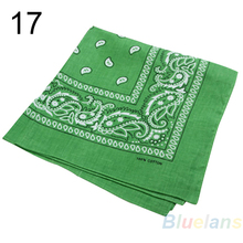 Hot Selling Hip-Hop Bandanas Head Scarves For Male Female Unisex Multi Colour Headscarf High Quality(China (Mainland))