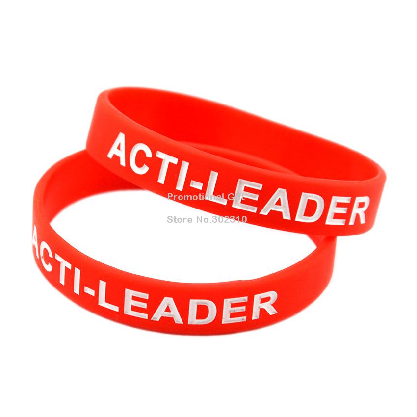 Custom Silicone Wristband Bracelet for Advertising(China (Mainland))