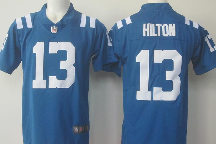 Mens Indianapolis Colts T.Y. Hilton #13 Color Rush Limited(China (Mainland))
