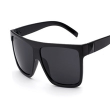 2016 Classic Retro Women & Men Sunglasses Big Box Frame Oversized Glasses Plastic Film Outdoors Goggle Oculos De Sol Feminino