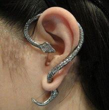 Free Shipping,C005 Wholesale,Vintage Creative Metal Twining Snake Punk Style Party Alloy Stud Earring(China (Mainland))