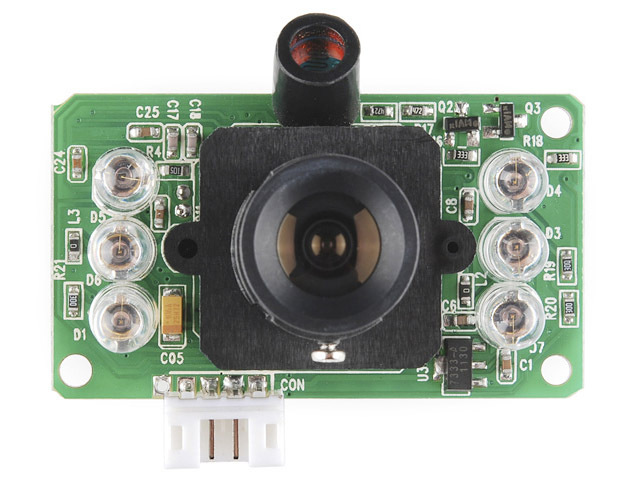 Cduino Source with Infrared IR JPEG TTL Serial Camera Webcam Taking Picture R3 280 328P DIY TANK CAR chassis(China (Mainland))