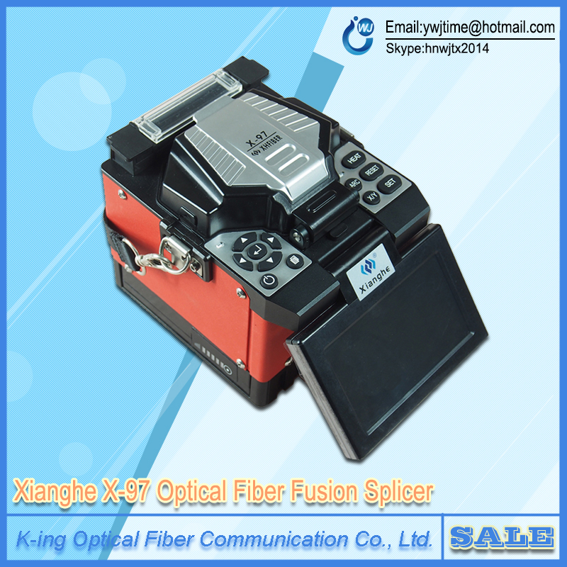 2016 Smart X-97 FTTH Fusion Splicer Optical Fiber Fusion Splicer FTTx Fiber Optic Fusion Splicing Welding Machine Free Shipping(China (Mainland))