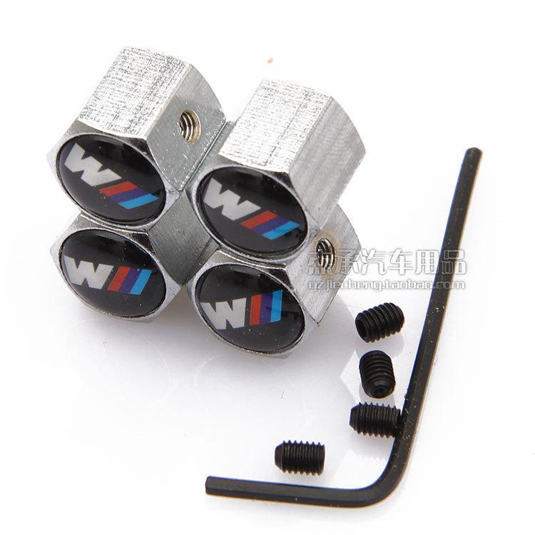 Стайлинга автомобилей от кражи MPower колеса автомобиля шин шин стволовых воздуха для BMW M3 m5 X1 X3 X5 X6 E36 E39 E46 E30 E60 E92 F30