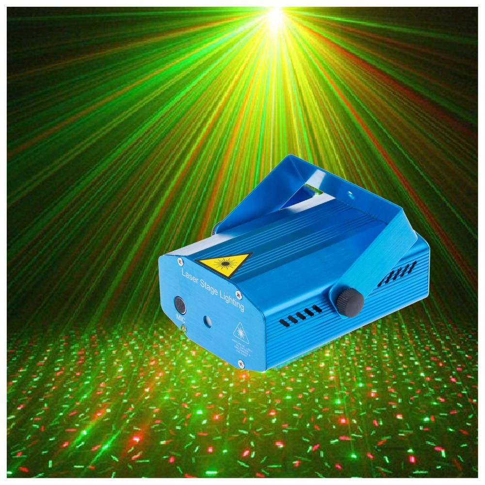 Portable multi led Projector DJ Disco Light music Stage lights Xmas Party wedding club show Laser Lighting projector Blue(China (Mainland))