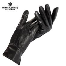 Хорошо продаются Перчатки мужчин, натуральная Кожа, кожа мужские перчатки, мужские черные перчатки, Теплый подкладка, Кожаные перчатки мужчин, бесплатная доставка(China (Mainland))