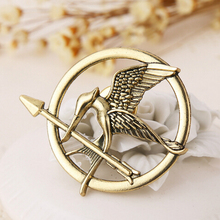 12pcs/lot Wholesale Free Shipping Fashion hunger games Bird pin bird brooch  corsage Brooches(China (Mainland))
