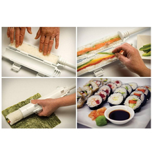 With Retail Box Sushi Maker Mold DIY Sushi Roller Kit Rice Roller Mould Sushi Making Tool Set Kitchen Gadget Cooking Tools(China (Mainland))