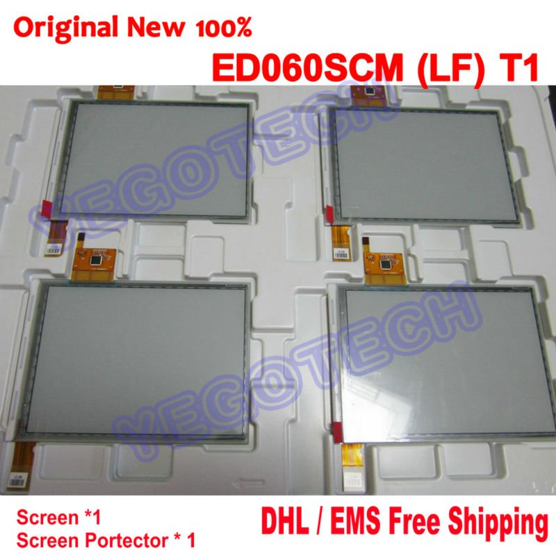Потребительская электроника Original Brand DHL/EMS + 100% ED060SCM T1 + Protecter, : 1 ED060SCM (LF) T1 feiwo 8090g alloys plating analog quartz wrist watch for men black golden silver