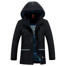 High Quality Winter Jacket Men Brand 2016 Warm Thicken Coat Famous Cotton-Padded Fashion Parkas Elegant Business Plus Size 3XL(China (Mainland))