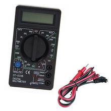 Caliente! LCD Digital del voltímetro del ohmio del amperímetro del multímetro DT830BT AC DC