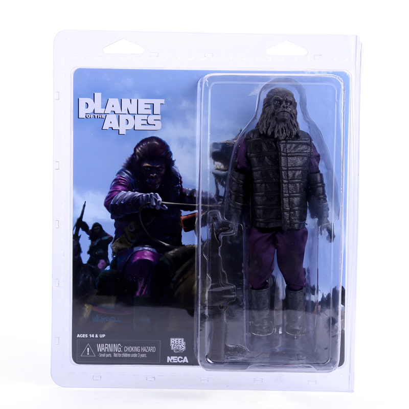 NECA Planet of the Apes Gorilla Soldier PVC Action Figure Collectible Toy 8