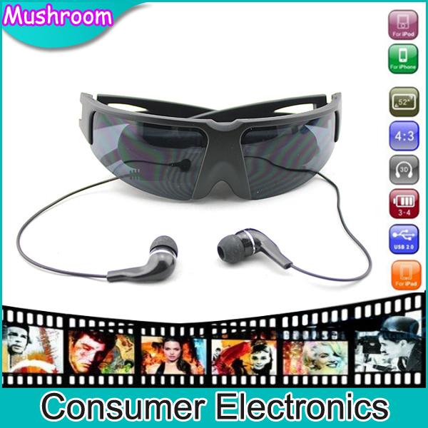 Видео-очки Mush-Room 52 FPV VG260 vg260 Video Glasses тамоников а холодный свет луны