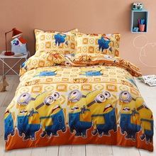 On Sale Winter 4Pcs 3D Bedding sets Flower Bedding-set Yellow-Men Bed Set King Size Sheets Duvet Cover Quilt Pillow No Comforter(China (Mainland))