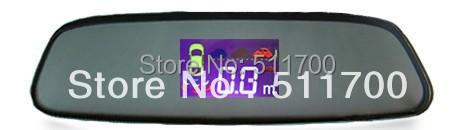 3.5'' Car LCD Displaying Mirror,Reversing Parking Sensor Detector,6 Sensor Auto Backup Radar,Buzzer Alarm(China (Mainland))