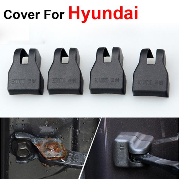 Hot Car styling Door Check Arm Protection Cover Hyundai SOLARIS Sonata 8 Verna - AUTO mechanist store