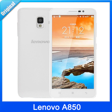 In Stock Original Lenovo A850 phone MT6582 Quad Core Phone 5.5 inch Android 4.2 GPS WCDMA 3G Smart Phone Russian support(China (Mainland))