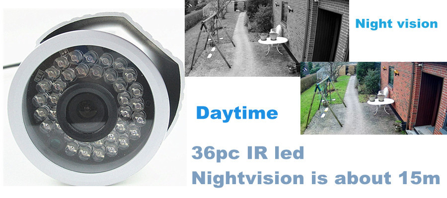 Wireless CCTV security IP Camera HD 720P/1080P 2mp wifi Micro SD Card p2p Outdoor IR LED cut WIFI IP network surveillance camera