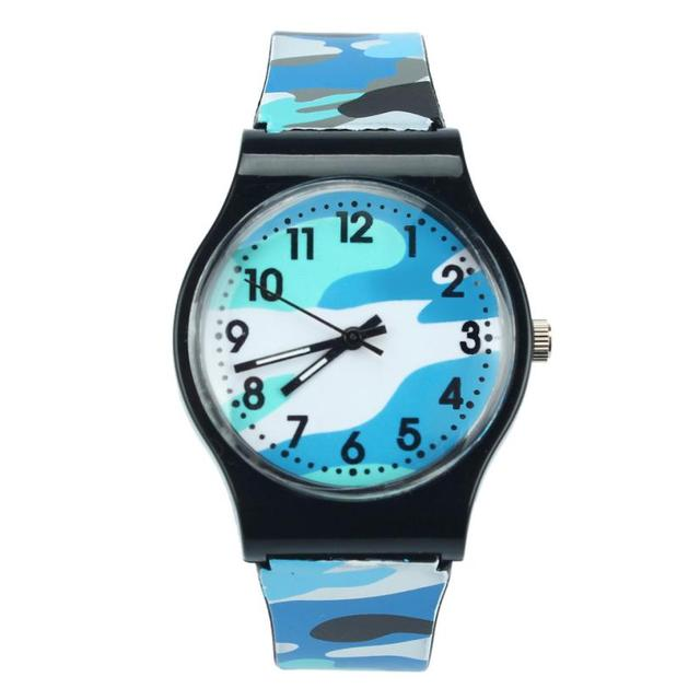 Camouflage Kids Watch 5 Colors