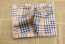 Sunglasses Phone screen cleaning cloth Modal Khaki Spell color Plaid Lens Cloth big size high quality Eyewear Accessories