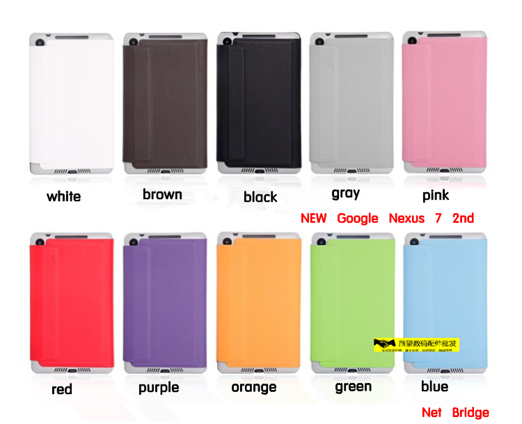 Здесь можно купить  DHL , 2013 New Google NEW Nexus 7 2nd Generation Flip Tablet Leather  Cover Case ,10 Colors,NEW  nexus 7 stand cover case .  Компьютер & сеть
