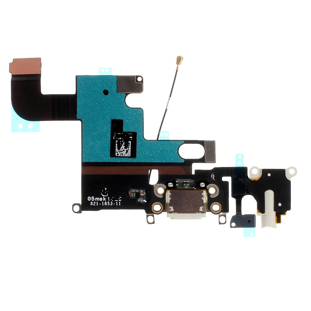 5pcs/lot OEM Dock Connector Charging Port Flex Cable for iPhone 6 4.7 free shipping good quality(China (Mainland))