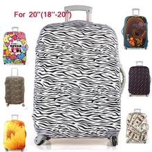 Hot Sale Travel Luggage Suitcase Protective Cover, stretch,made for 20 inch case, apply to 18 to 20inch Cases,7 colors M1225(China (Mainland))
