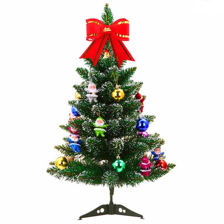 Artificial christmas tree set with accessories ornaments for Christmas decoration stuff