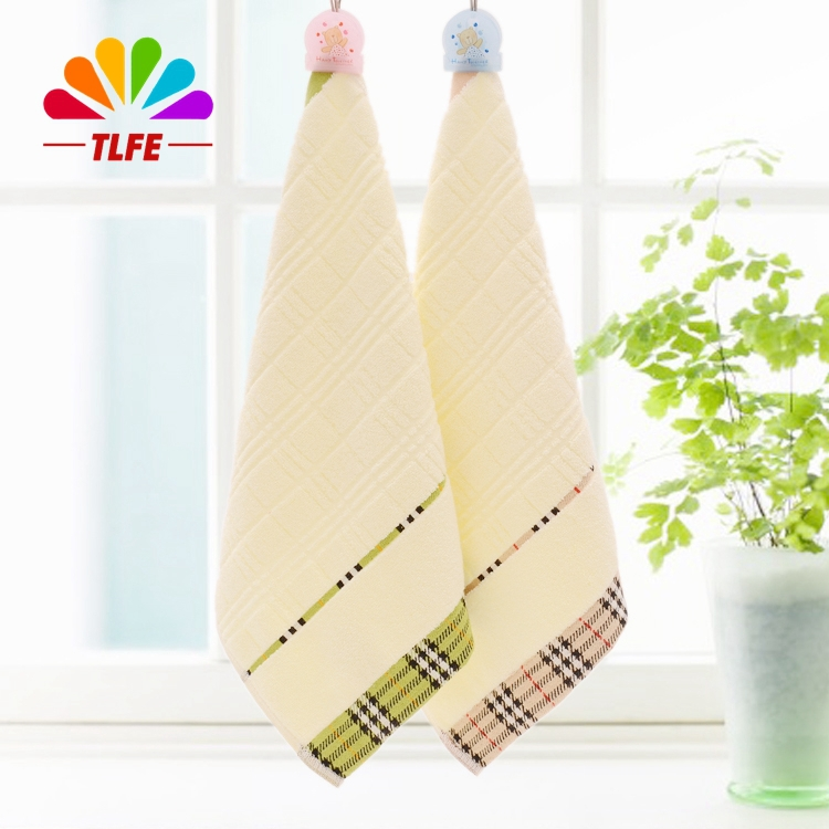 TLFE Home Textile High Quality 35x35cm 100% Cotton Baby Hand Face Towels Set Bathroom 4pcs/set Solid Kitchen Towels toalla FT193(China (Mainland))