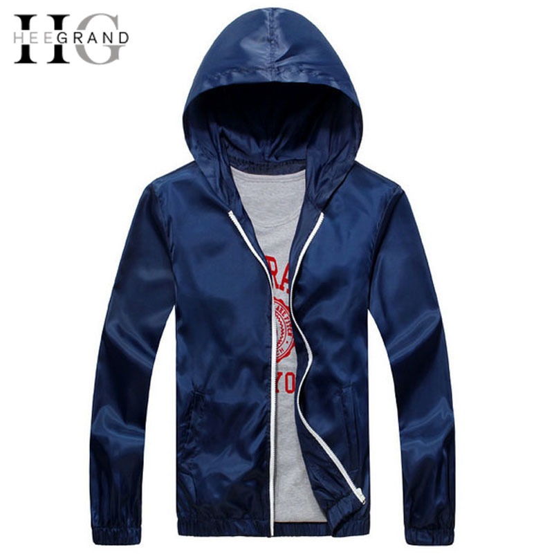 11 Colors New Men Jacket Men's Outdoor Windbreaker Outwear Sun-Protective Clothing Male Coats Solid Slim Sports Jackets MWJ856(China (Mainland))