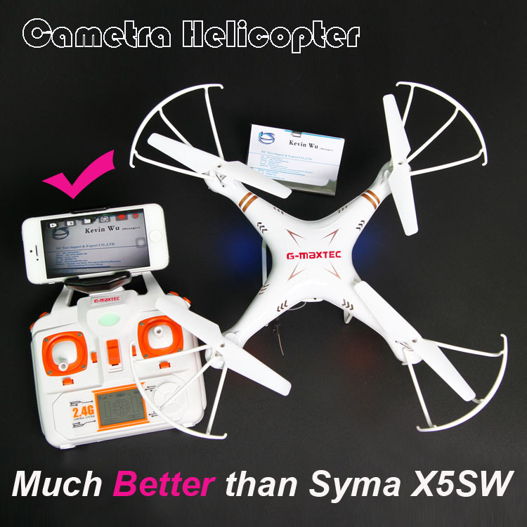 G-maxtec X865C Camera Remote Control helicopter RTF Drone FPV quadcopter RC Quadrocopter with camera WiFi Better than Syma X5SW(China (Mainland))