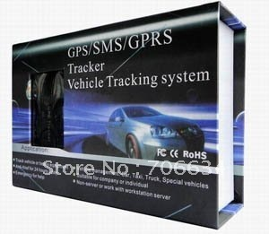 Real-Time GPRS GSM GPS Tracker Vehicle Tracker TK103A freeshipping