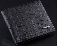 Genuine Leather Man Wallet 2015 arrival brand design purse long fold wallets High Quality me wallets