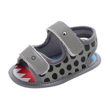 Zapatos de bebé para niños, sandalias para niñas, zapatos casuales con estampado de cocodrilo de primavera, anzuelo de playa y lazo chico niños pequeños zapatillas de deporte(China)