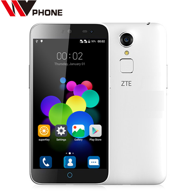 WV ZTE Blade A1 5.0 Inch MTK6735 Quad-Core Smartphone Android 5.1 Unlocked Cell Phone Dual SIM Card 2GB+16GB Mobile Phone(China (Mainland))