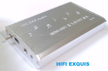HIFI EXQUIS YEK PCM2706 DAC TDA1305 decoder amp Notebook PC USB sound card headphone amplifier(China (Mainland))