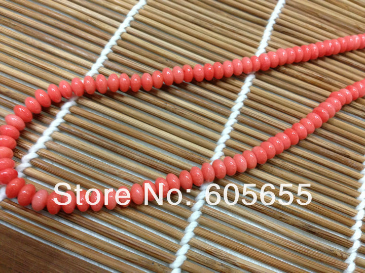 5x8mm Pink Sea Bamboo Coral Barrel Beads 10 strands per lot Free Shipping<br><br>Aliexpress