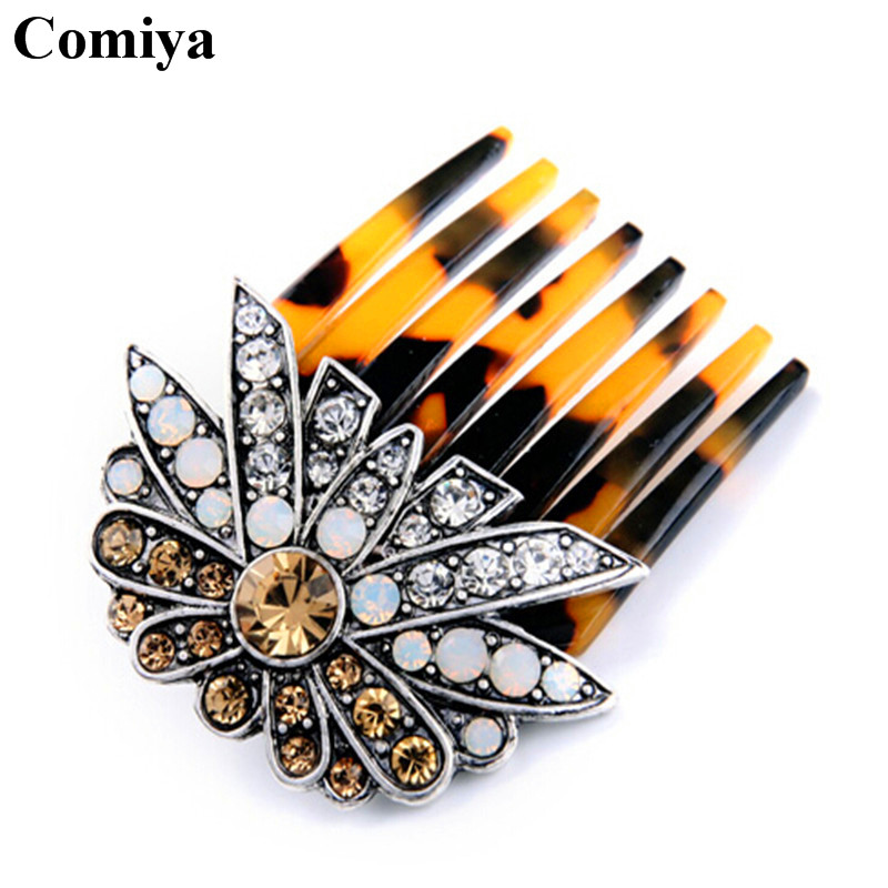 Fashion hair combs for women bridal accessories bijoux wholesale acessorios para cabelo tocados 2016 gifts rhinestone hairwear(China (Mainland))