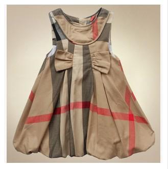2015 New Summer Brand Design Girls Dress Plaid Princess dress Children Clothing England Style Baby Girl Clothes Vestidos<br><br>Aliexpress