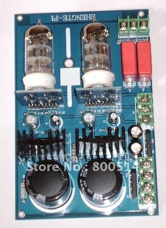 YJ- Assembled 6N2 tube Preamp board(China (Mainland))