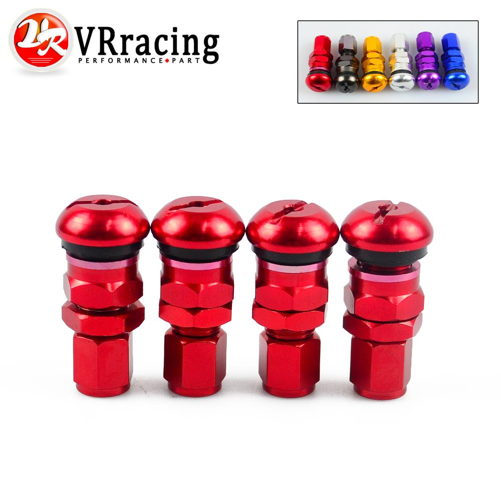 VR RACING-4 RAYS VOLK RACING FORGED ALUMINUM VALVE STEM CAPS WHEELS RIMS UNIVERSAL Blue Silver Black Golden Red Black VR-WR11(China (Mainland))