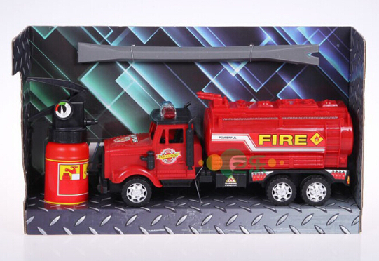 Hot sale engineering truck series 20142-9A 1:10 Scale Models Fire-extinguishing Water Tanker Model jouet enfant free shipping(China (Mainland))