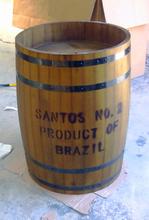 High 70CM  Beer Barrel Wine Portable Wooden Boxes KTV Supermarket Selling Gift Packaging Barrels Wedding Exhibition Barrel(China (Mainland))